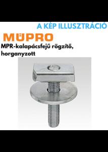 MÜPRO MPR- kalapácsfejű rögzítő M8x80 41/21/41/124 profilhoz