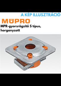 MÜPRO MPR- gyorsrögzítő S+típus,M10, 41/21-41/124 profilhoz,horganyzott