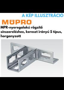 MÜPRO MPR- gyorsrögzítő S típus M8, 41/21-41/124 profilhoz