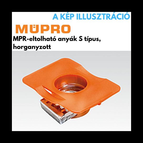 MÜPRO MPR-lakatanya S típus, M8 41/21-41/124 profilhoz